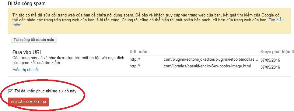 huong dan sua loi web