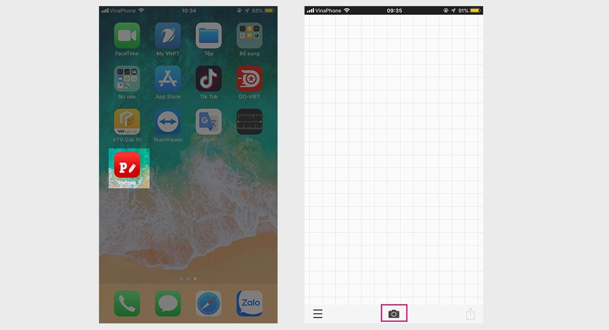 Hướng dẫn chèn logo vào ảnh trên điện thoại bằng App Phonto